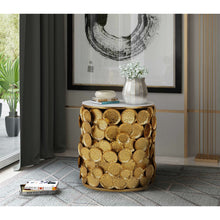 TOV Furniture Modern Brie Marble Side Table - TOV Furniture, Minimal & Modern -  9