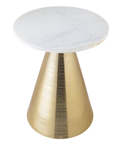 TOV Furniture Modern Tempo Marble Side Table - TOV-OC18129