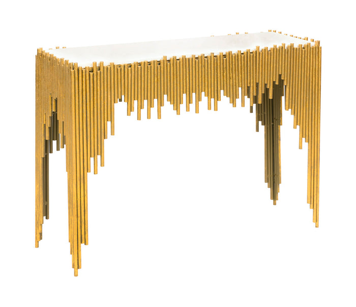 TOV Furniture Modern Waterfall Console Table - TOV-OC18201