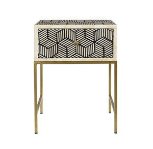 TOV Furniture Modern Bone Inlay Side Table - TOV-OC18234