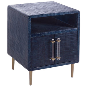 TOV Furniture Modern Marco Lacquer Indigo Side Table - TOV Furniture, Minimal & Modern -  5
