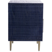 TOV Furniture Modern Marco Lacquer Indigo Side Table - TOV Furniture, Minimal & Modern -  6