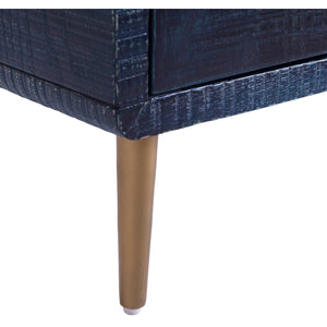 TOV Furniture Modern Marco Lacquer Indigo Side Table - TOV Furniture, Minimal & Modern -  8