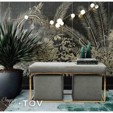 TOV Furniture X Inspire Me Lila Tri Velvet Bench Set TOV-OC6309