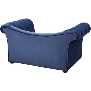 TOV Furniture Modern Dachshund Navy Pet Bed - TOV-P2032-N-Minimal & Modern