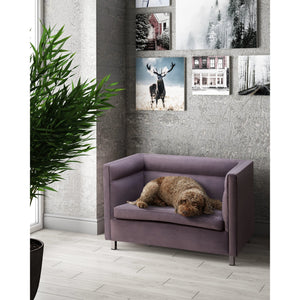 TOV Furniture Modern Beagle Grey Pet Bed - TOV-P2040-G-Minimal & Modern