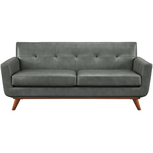 TOV Furniture Modern Lyon Smoke Grey Loveseat TOV-S31L-Minimal & Modern