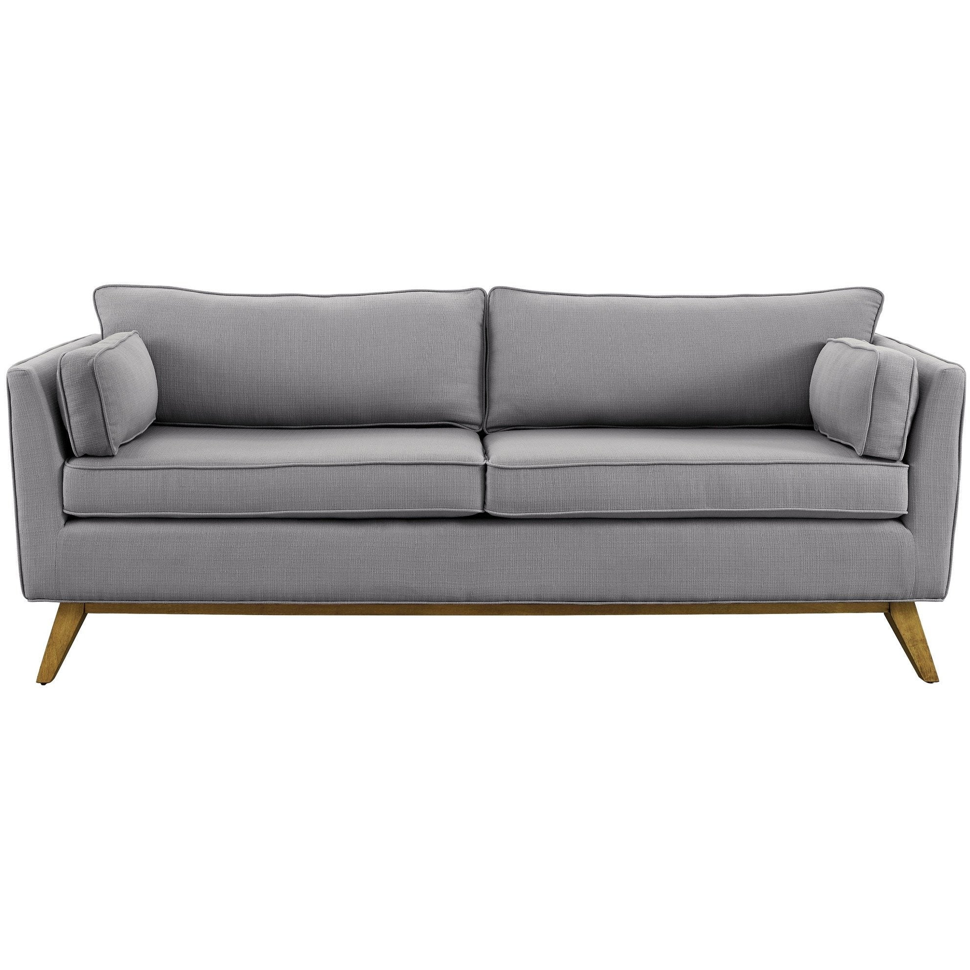 ... TOV Furniture Modern Sussex Light Grey Sofa TOV S40 Minimal U0026 Modern ...