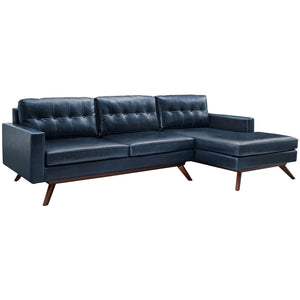 TOV Furniture Modern Blake Antique Blue RAF Sectional TOV-S51-S52-SEC-RAF-Minimal & Modern