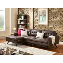 TOV Furniture Modern Blake Antique Chestnut LAF Sectional TOV-S53-S58-SEC-LAF-Minimal & Modern