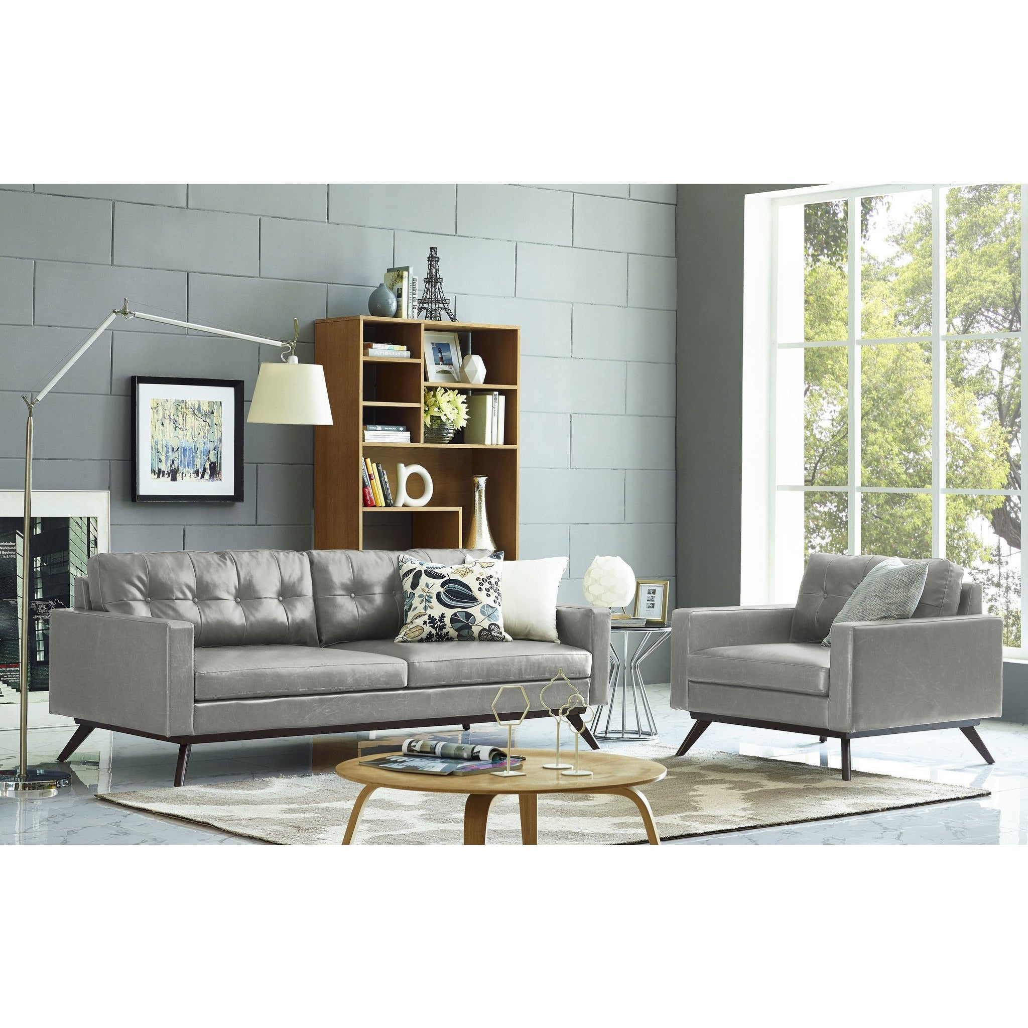... TOV Furniture Modern Blake Antique Grey Sofa , Sofas   TOV Furniture,  Minimal U0026 Modern ...