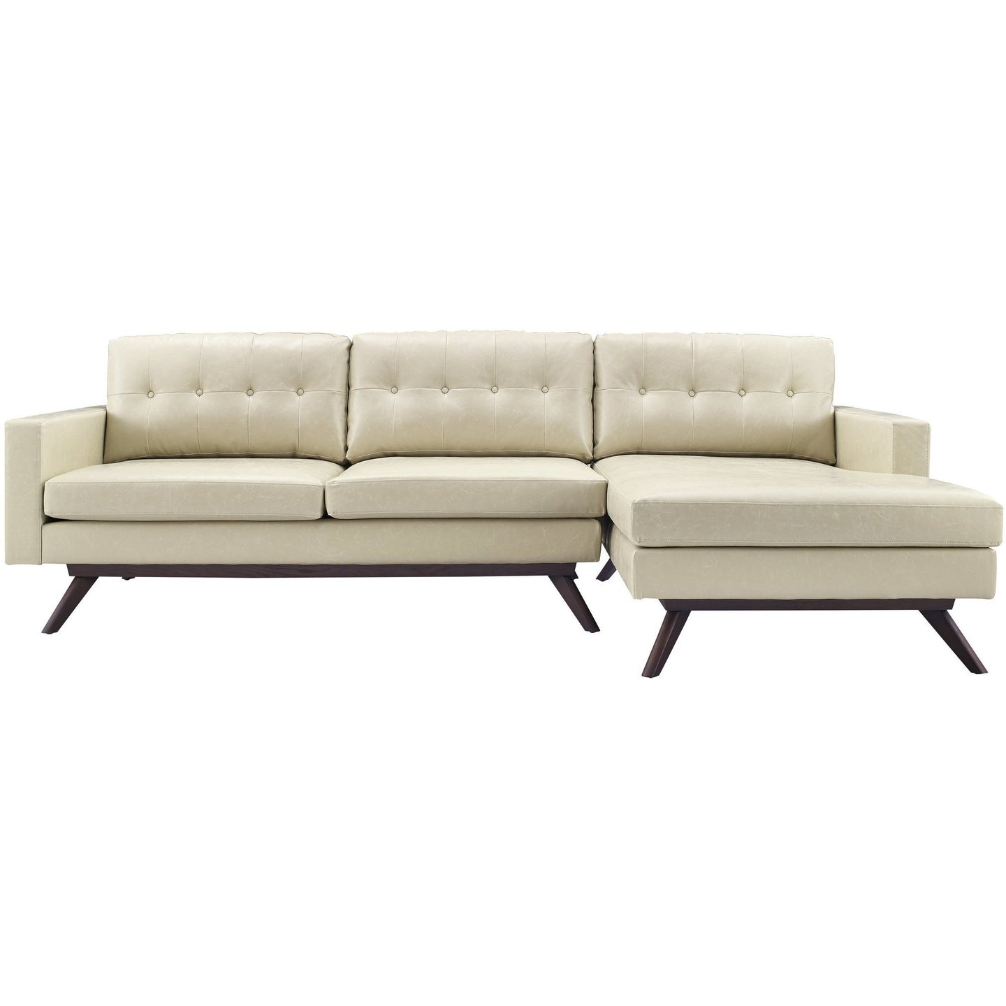 TOV Furniture Modern Blake Antique Beige RAF Sectional TOV-S63-S64-SEC-RAF-Minimal & Modern