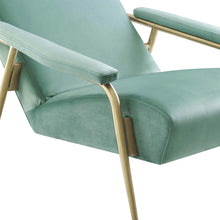 TOV Furniture Modern Abbey Mint Green Velvet Chair - TOV-S6425