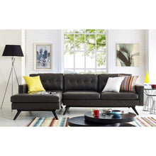 TOV Furniture Modern Blake Antique Brown LAF Sectional TOV-S65-S66-SEC-LAF-Minimal & Modern