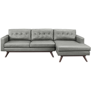 TOV Furniture Modern Blake Antique Grey RAF Sectional TOV-S79-S80-SEC-RAF-Minimal & Modern