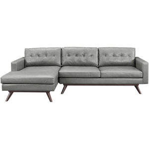 TOV Furniture Modern Blake Antique Grey LAF Sectional-Minimal & Modern