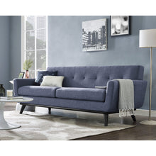 TOV Furniture Modern James Blue Linen Sofa TOV-S95S-Minimal & Modern