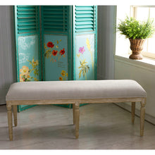 Baxton Studio Clairette Wood Traditional French Bench Baxton Studio-benches-Minimal And Modern - 4