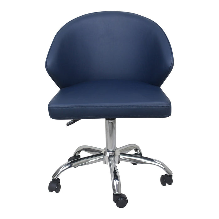 Moe's Home Collection Albus Swivel office Chair Blue - UU-1015-19 - Moe's Home Collection - Office Chairs - Minimal And Modern - 1