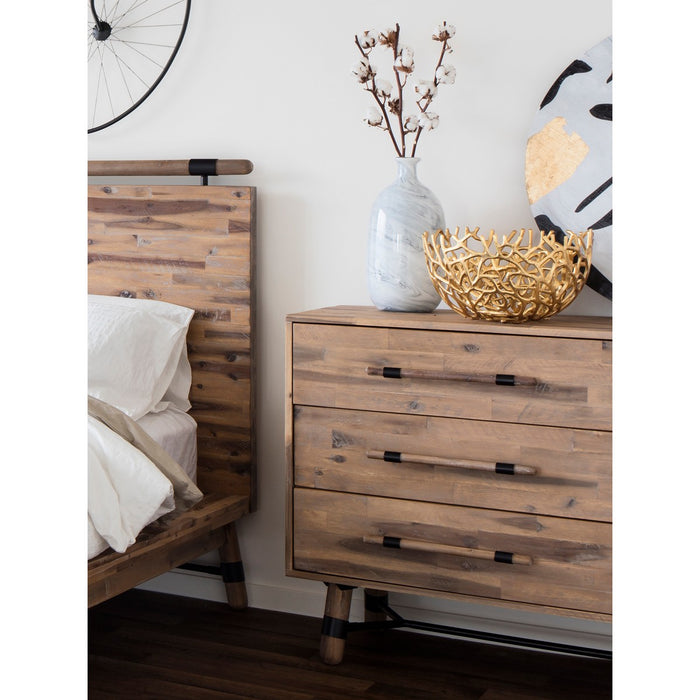 MOE'S HOME COLLECTION HUDSON 6 DRAWER LOW DRESSER - VX-1027-01Moe's Home Collection -  - Minimal And Modern - 1
