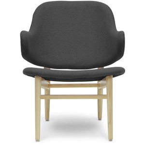 Baxton Studio Kehoe Gray Modern Accent Chair Baxton Studio-chairs-Minimal And Modern - 2