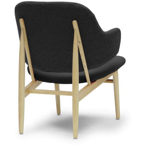 Baxton Studio Kehoe Gray Modern Accent Chair Baxton Studio-chairs-Minimal And Modern - 4