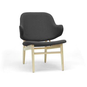 Baxton Studio Kehoe Gray Modern Accent Chair Baxton Studio-chairs-Minimal And Modern - 1