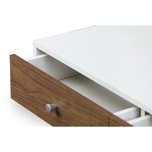 Baxton Studio Gemini Wood Contemporary Coffee Table Baxton Studio-coffee tables-Minimal And Modern - 5
