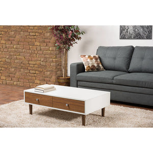 Baxton Studio Gemini Wood Contemporary Coffee Table Baxton Studio-coffee tables-Minimal And Modern - 6