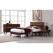 5pc Greenington Azara Modern Bamboo Platform California King Bedroom Set (Includes: 1 California King Bed, 2 Nightstands, 2 Dressers)-Minimal & Modern