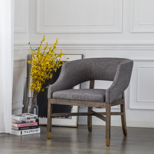 Sebastian Fabric Chair by New Pacific Direct - 9900032