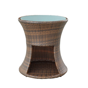 Modway Furniture Strum Patio Outdoor Patio Side Table EEI-1002-EXP-Minimal & Modern