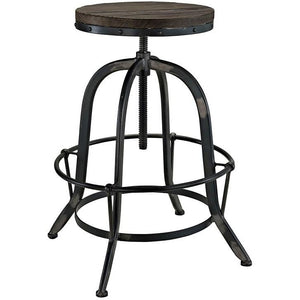 Modway Furniture Modern Collect Wood Top Bar Stool EEI-1208-Minimal & Modern