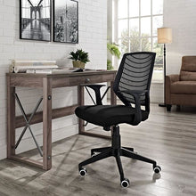 Modway Furniture Modern Entrada Office Chair in Black EEI-1246-BLK-Minimal & Modern