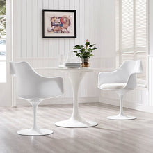 Modway Furniture Modern Lippa Dining Armchair Set of 2-Minimal & Modern