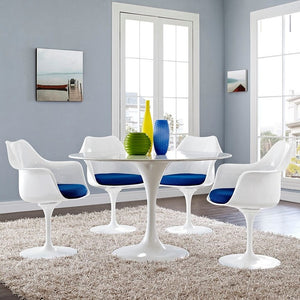Modway Furniture Modern Lippa Dining Armchair Set of 4-Minimal & Modern
