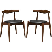 Modway Furniture Modern Stalwart Dining Side Chairs Set of 2-Minimal & Modern