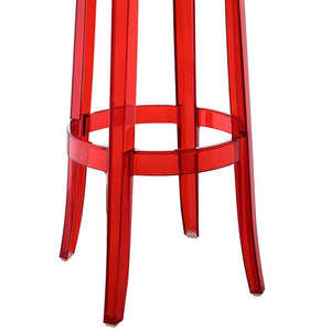 Modway Furniture Modern Casper Bar Stool Set of 4-Minimal & Modern