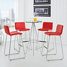 Modway Furniture Modern Dive Bar Stool Set of 4-Minimal & Modern