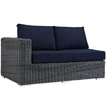 Modway Furniture Modern Summon 7 Piece Outdoor Patio Sunbrella® Sectional Set-Minimal & Modern