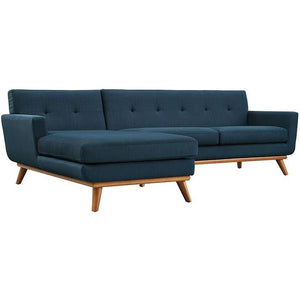 Modway Furniture Modern Engage Left-Facing Sectional Sofa-Minimal & Modern
