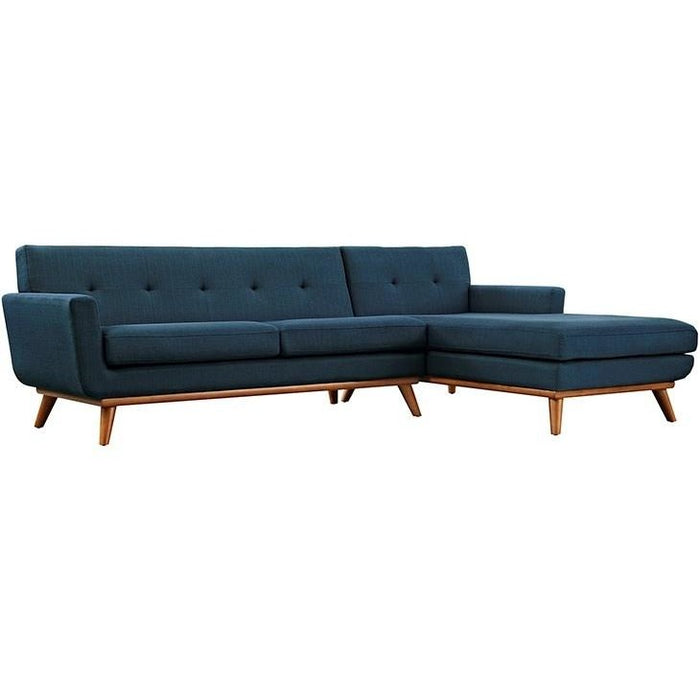 Modway Furniture Modern Engage Right-Facing Sectional Sofa