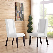 Modway Furniture Modern Baron Vinyl Dining Chair-Minimal & Modern
