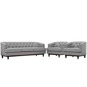 Modway Furniture Modern Coast Living Room Set Set of 3-Minimal & Modern