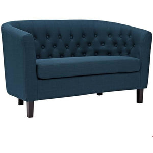 Modway Furniture Modern Prospect Fabric Loveseat-Minimal & Modern