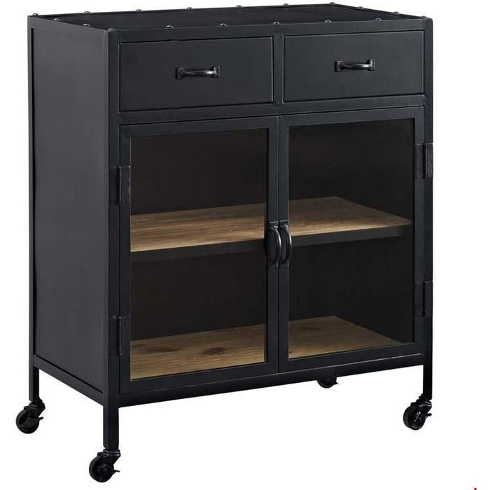 Modway Furniture Modern Charm Cabinet In Black-Minimal & Modern