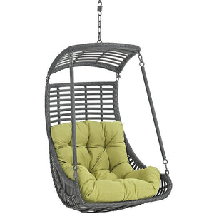 Modway Furniture Modern Jungle Outdoor Patio Swing Chair Without Stand-Minimal & Modern