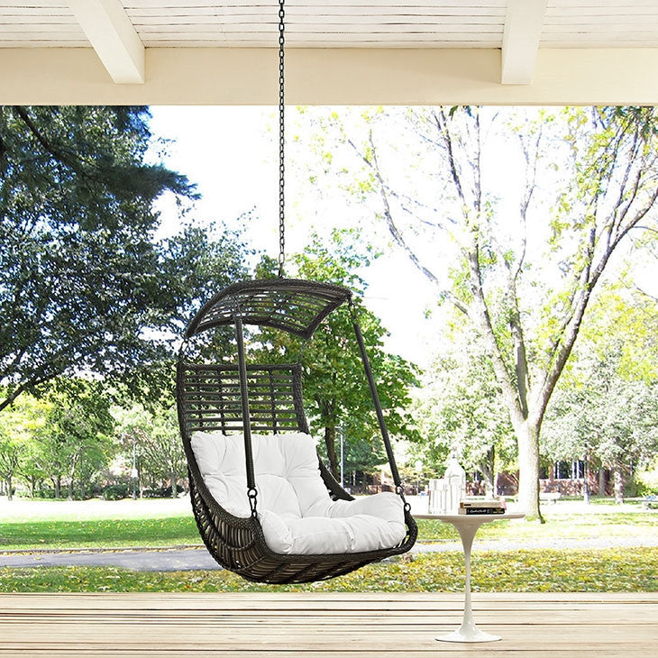 ... Modway Furniture Modern Jungle Outdoor Patio Swing Chair Without  Stand Minimal U0026 Modern ...