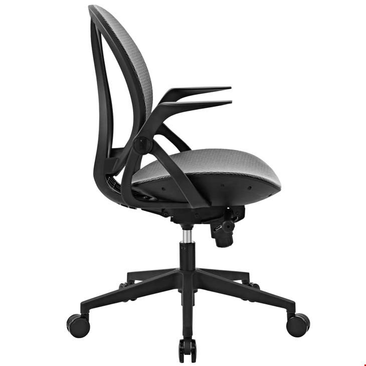 Modway Furniture Modern Conduct Vinyl Office Chair