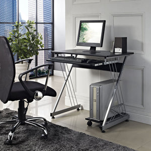 Modway Furniture Practicle Modern Office Writing Sleek Computer Desk EEI-706-Minimal & Modern